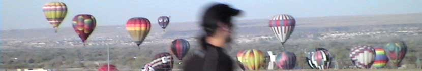 New Mexico Marathon Racers Enjoy Balloons